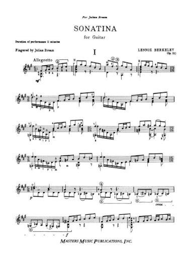Berkeley Sonatina Flute Pdf