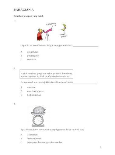 Soalan Tahun 3 Dst Doc Document