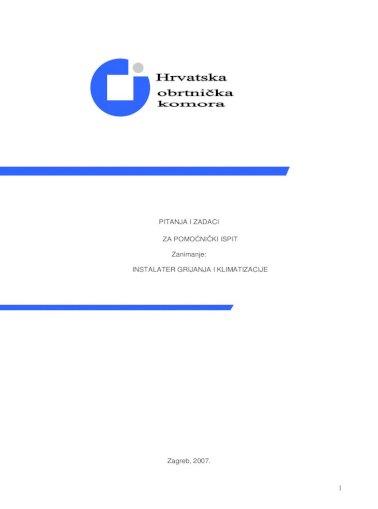 Katalog Pitanja I Odgovora Za Pomocnicki Ispit Pdf Document