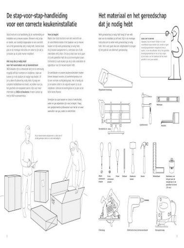 Keuken Installatie Gids Ikea Com Pdf Document