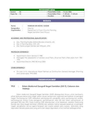 Title Sistem Maklumat Geografi Negeri Sembilan Gis 9 Pdf Document