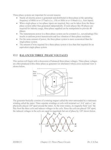 Circuits three phase Three Phase