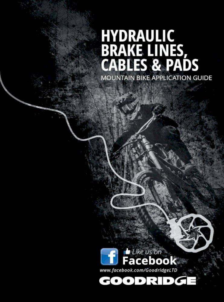 Shimano XTR 2008 Goodridge Mountain Bike Disc Brake Hose Kit