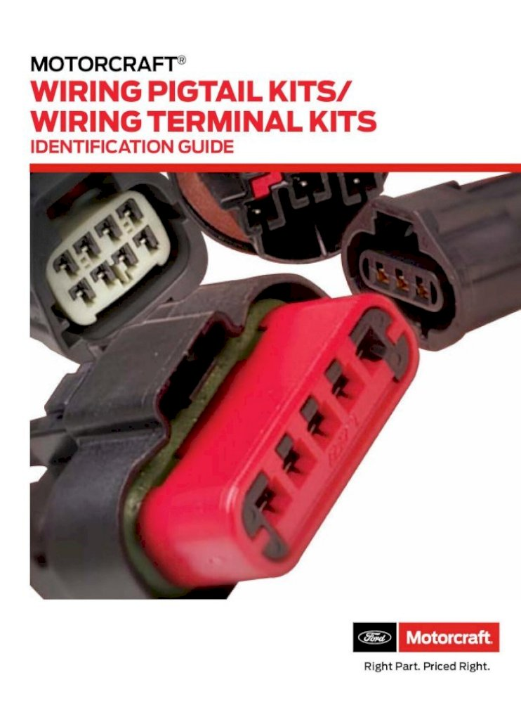 Motorcraft WPT-1081 Four Wheel Drive Disconnect Switch Connector