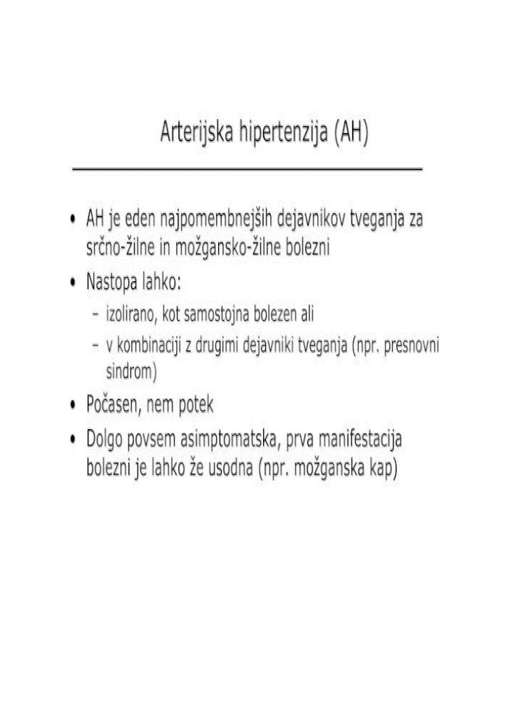 hipertenzija delne